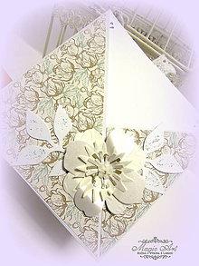 Papiernictvo - Neha s vôňou mentolu... - 5976441_