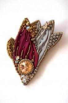 Odznaky/Brošne - Silver Royalty O.O.A.K. - 5977258_