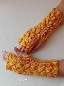 Rukavice - Bezprstové rukavičky - 5979572_