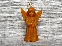 Svietidlá a sviečky - Sviečka - anjel - 5980712_