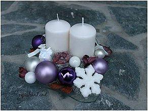 Svietidlá a sviečky - štvorcové_sklenené aranžmá - 5984173_