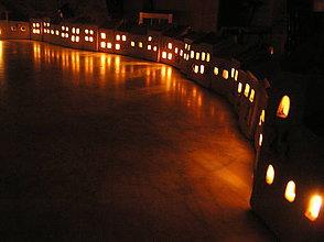 Svietidlá a sviečky - adventý kalendár bez sladkostí :( - 5982809_