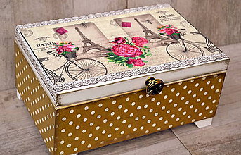 Krabičky - Luxusná šperkovnica II. - 5981912_