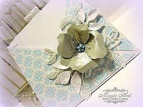 Papiernictvo - Kvet s vôňou neba... - 5982787_