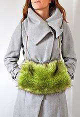 Rukavice - rukohrej muf zelený - 5980576_