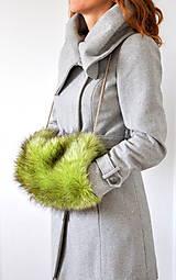 Rukavice - rukohrej muf zelený - 5980577_