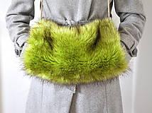 Rukavice - rukohrej muf zelený - 5980578_