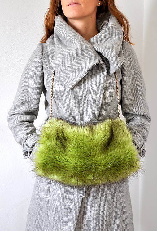 rukohrej muf zelený