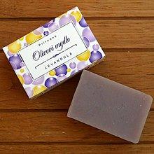 Drogéria - Olivové mydlo LEVANDUĽA - 5983719_