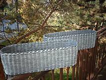 Košíky - Truhlík oválny s patinou..:-) - 5981860_