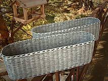 Košíky - Truhlík oválny s patinou..:-) - 5981862_