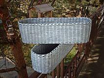 Košíky - Truhlík oválny s patinou..:-) - 5981868_