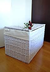 Košíky - Truhlica biela - 5981680_