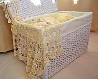 Košíky - Truhlica biela - 5981994_