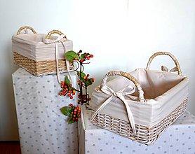 Košíky - S uškami/set - 5981534_