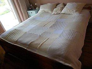 Úžitkový textil - Svetlá prikrývka na posteľ - 5981785_