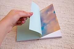 Papiernictvo - Látkový zápisník s kalendárovými predelmi - 5985370_