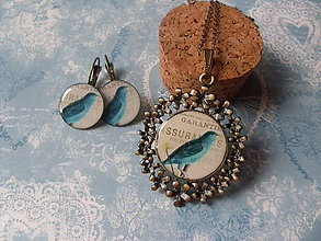 Sady šperkov - Modropierko # 1 - ZĽAVA - 5986677_