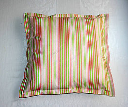 Úžitkový textil - Prúžkovaná návliečka - 5991012_