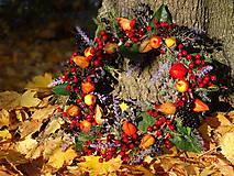 Dekorácie - Jesenný  venček 5 - 5988268_