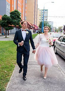 Šaty - romantický netradičný komplet pre sl.I - 5991152_