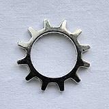 Komponenty - Ozubené koliesko 21mm-platina-1ks - 5989535_