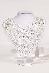 """Náhrdelníky - biely náhrdelník white dream - """"čas čipky"""" - 5989484_"""