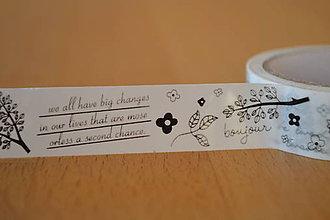 Papier - Samokepiaca páska listy, 15mm, 1.90€/ks - 5989735_