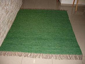 Úžitkový textil - Farebný koberec z ovčej vlny - 5990223_