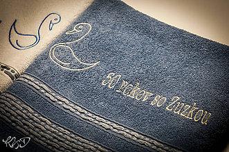 Úžitkový textil - Osušky k 50-temu výročiu - 5994065_