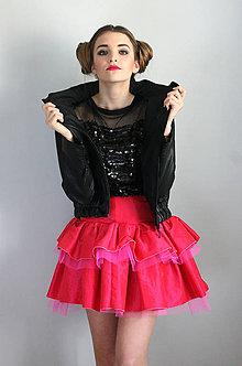 Kabáty - Black Leatherette - 5995287_