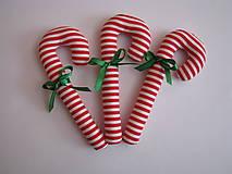 Dekorácie - Vianočné lízanky s mašličkou - 5995810_