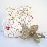 Vianočné darčekové vrecúško