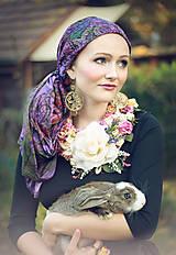 Náhrdelníky - Kvetinový náhrdelník - 5995324_