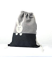 Detské tašky - Vrecúško GREY sleep - 5992407_