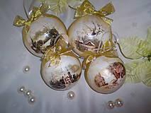Vianočné gule Vidiek