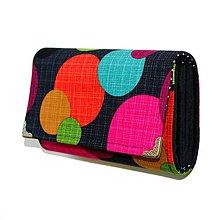 Peňaženky - peněženka Round 16cm - 5994476_