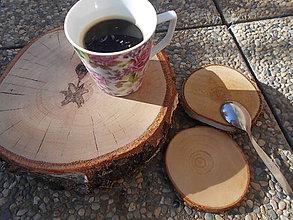 Pomôcky - drevená podložka BREZA - 5992731_