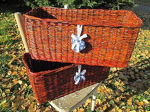 Košíky - Slivka a modrotlač - 5997643_