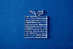 Dekorácie - Ľadový vianočný darček - 5999140_