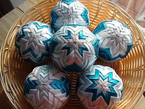 bbb2b7925 Vianočné patchworkové gule / adara - SAShE.sk - Handmade Dekorácie