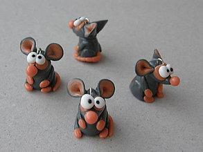 Na mobil - Mini potkanik sivý - 5998592_