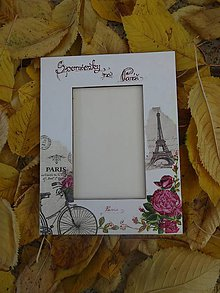 Rámiky - Spomienky na Paríž - 5999961_