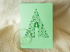 Papiernictvo - Pohľadnica - rozsvietený - 5997157_