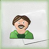 Magnetky - Otec rodiny - magnetka - 5996218_