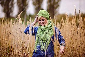 Čiapky - Zelený setík - 6001575_