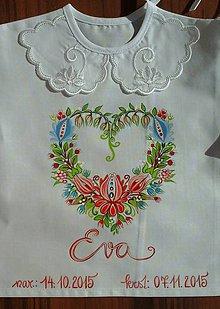b6081876d82b1 Nežná ľudová ku krstu / IvanaBerdak - SAShE.sk - Handmade Detské oblečenie