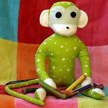 Hračky - opička farbička - 6001983_