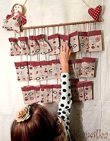 Dekorácie - Adventný kalendár - Zornička - 6004481_