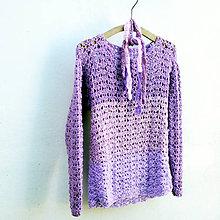 Svetre/Pulóvre - milá lila. pulóvrik. - 6004610_